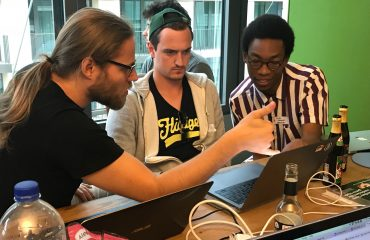 Investigating the current topology of the Lightning Network together with Ladi and Olaoluwa Osuntokun at the second Lightning Hackday